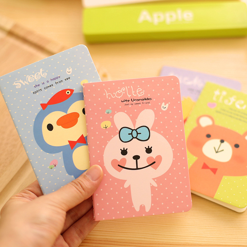 Loss Big Sale 1pcs 12 * 8.5cm 20 Sheets Of Paper 40 Pages More Styles Notebook Cute Notes Notepad Scratch Pad