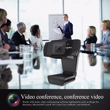 Webcam HXSJ HD 1080 P 720 p para videoconferencias y android Smart TV