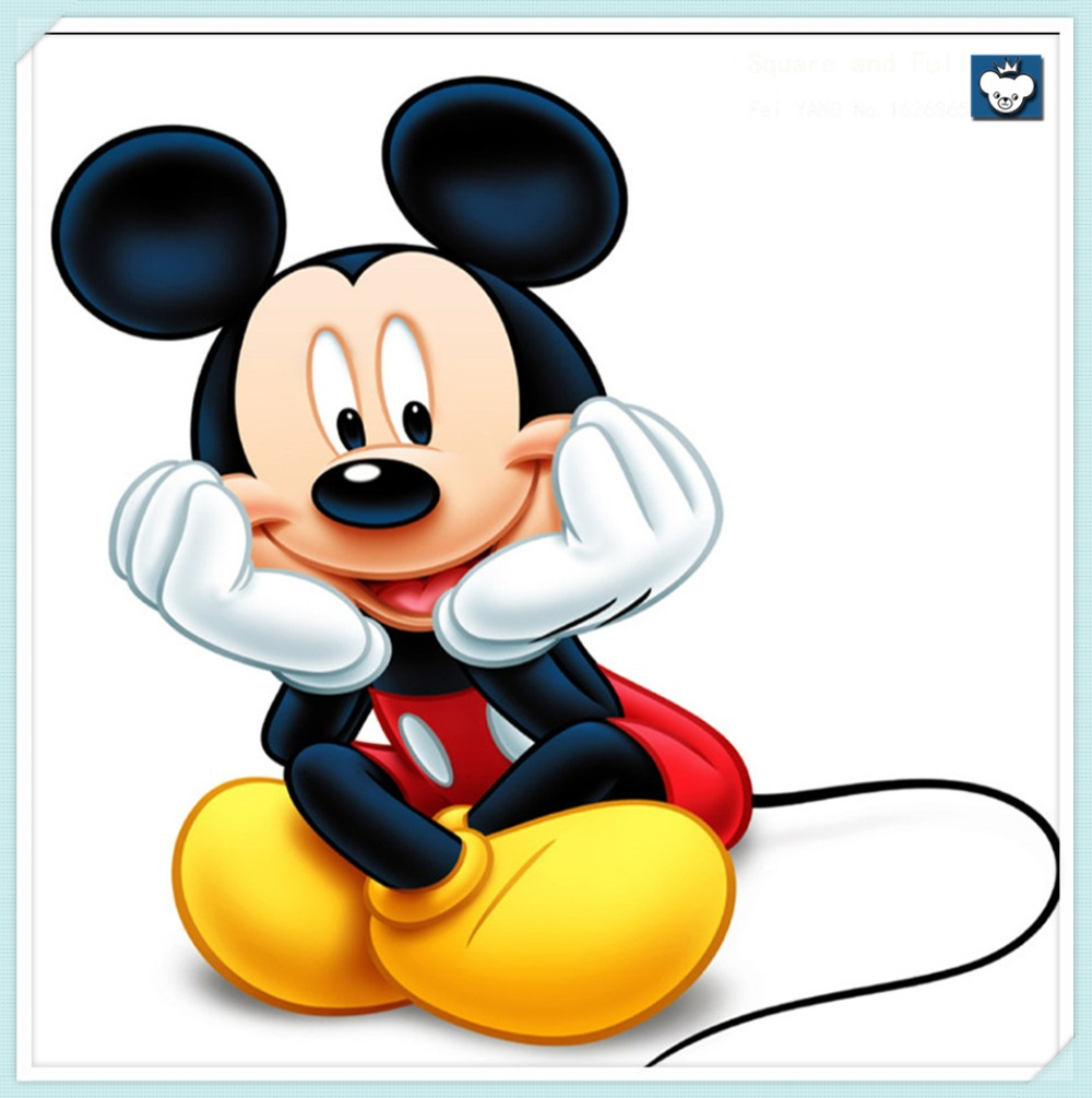 Full diamond FOR Mickey Mouse Diamond Embroidery for
