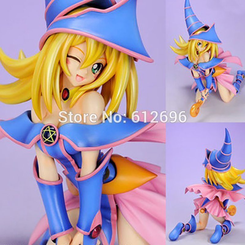 C&F Yu Gi Oh Yu-Gi-Oh! Duel Monster Dark Magician Girl Boxed 20cm PVC Action Figure Toys Collection Model Doll Toy Gift sheng yu 20 f