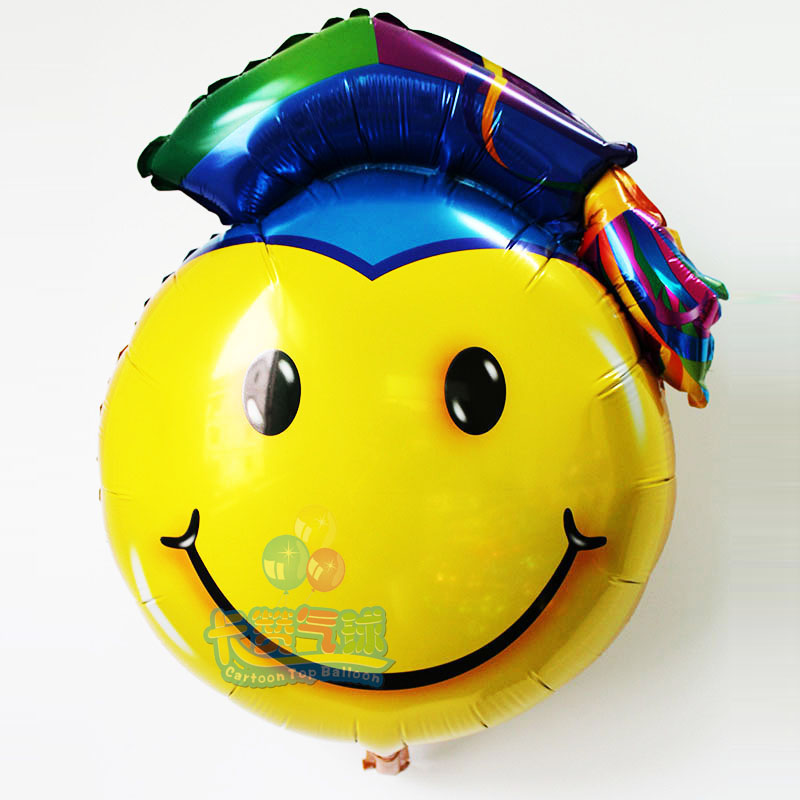 Popular graduation balloons buy cheap graduation balloons for Balloon decoration graduation