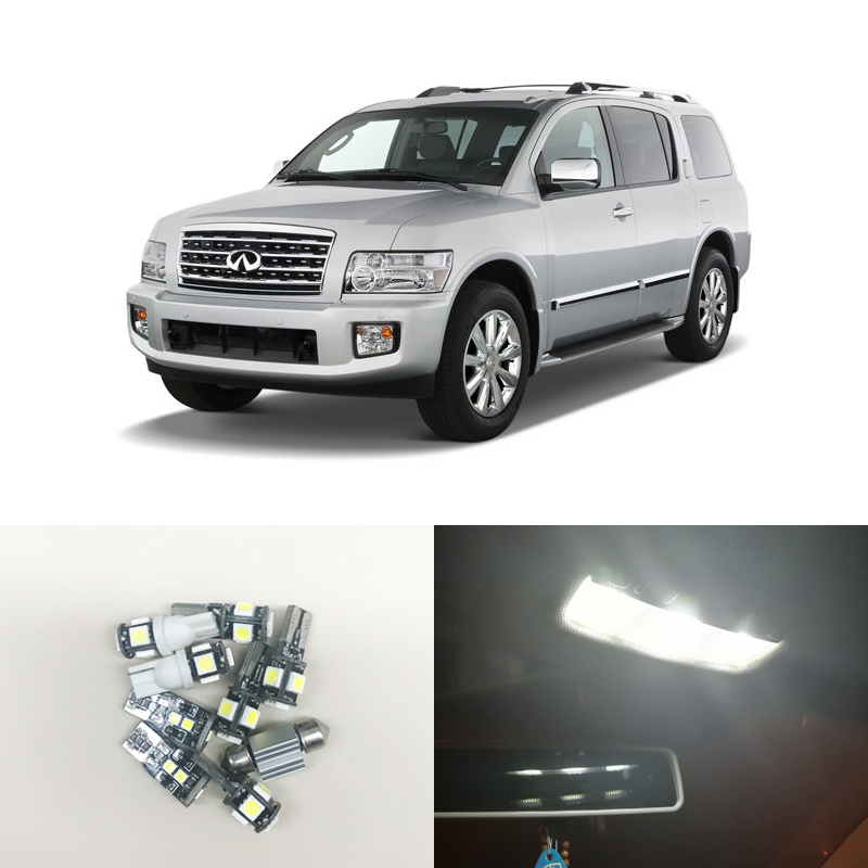 2005 Infiniti Qx Interior: CAN Bus White Led Interior Package Kits For Infiniti QX56