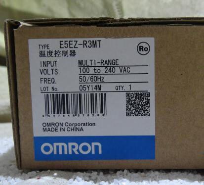 New and original  E5EZ-R3MT  OMRON   100-240VAC    50/60Hz Temperature controller [zob] new original omron omron beam photoelectric switch e3jk tr12 c 2m 2pcs lot