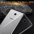 Meizu mx6 caso de silício caso de volta suave ibear meizu mx6 premium 5.5 polegada meizu mx 6 casos capa ultra fina e clara coque