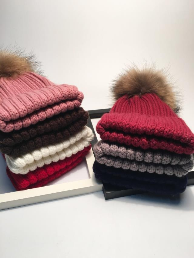 winter hats for women pom pom hat  (14)