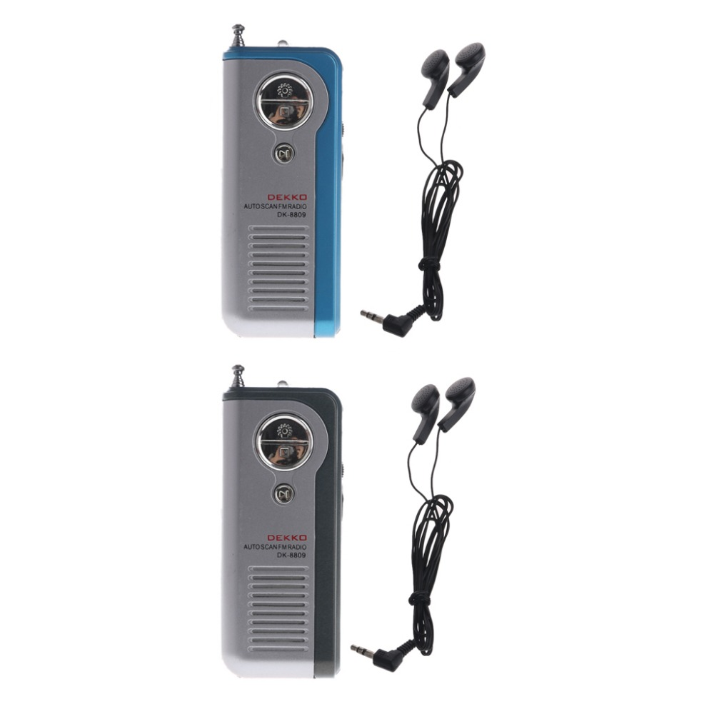 Mini Portable Auto Scan Fm Radio Receiver Clip With Flashlight Am Circuit Using Ta8122 Integrated Ic 4n00871