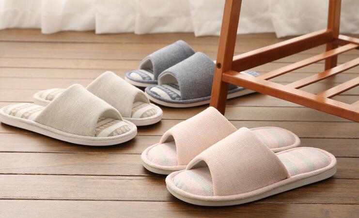 Fein 2019 Männer Hausschuhe # Tx19-28 Baumwolle Hausschuhe Winter Indoor Männer Hause Schuhe