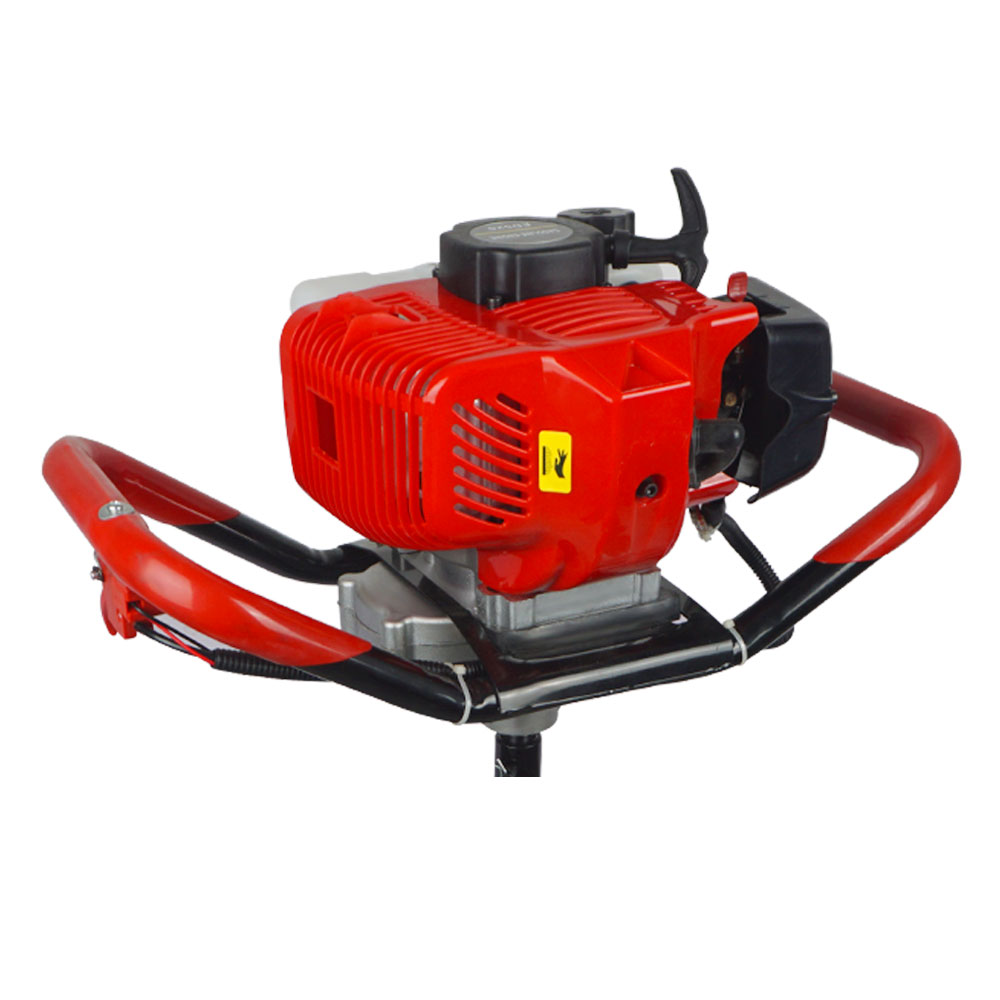 Engine Machine for Post Hole Digger Replacement 52CC Earth Auger Borer US Stock powerful 82cc hole digging tools earth auger drilling machine heavy duty digging hole auger anchor
