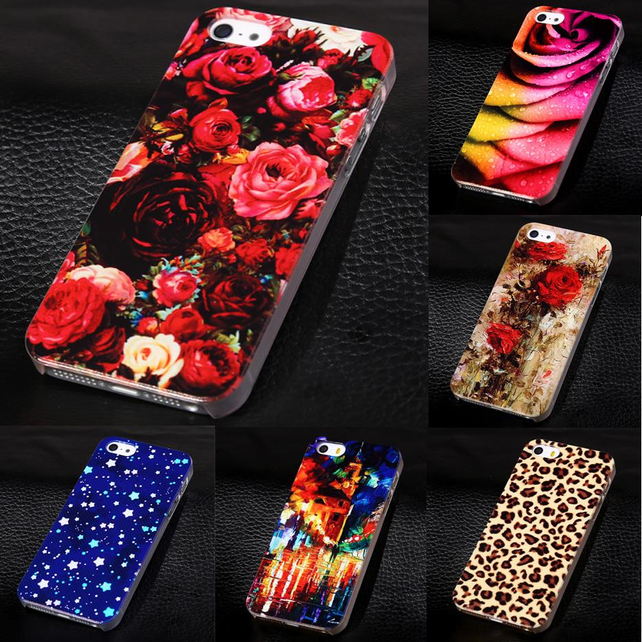 2018 New Phone Cover for Apple iPhone5 5s Luxury Painted