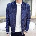 2016 Camuflaje Chaqueta de Bombardero de Los Hombres Bape Japón Estilo Abrigos Otoño Chaquetas Cortas Abajo de la Capa de Los Hombres Jaquetas masculina Homme Doudoune