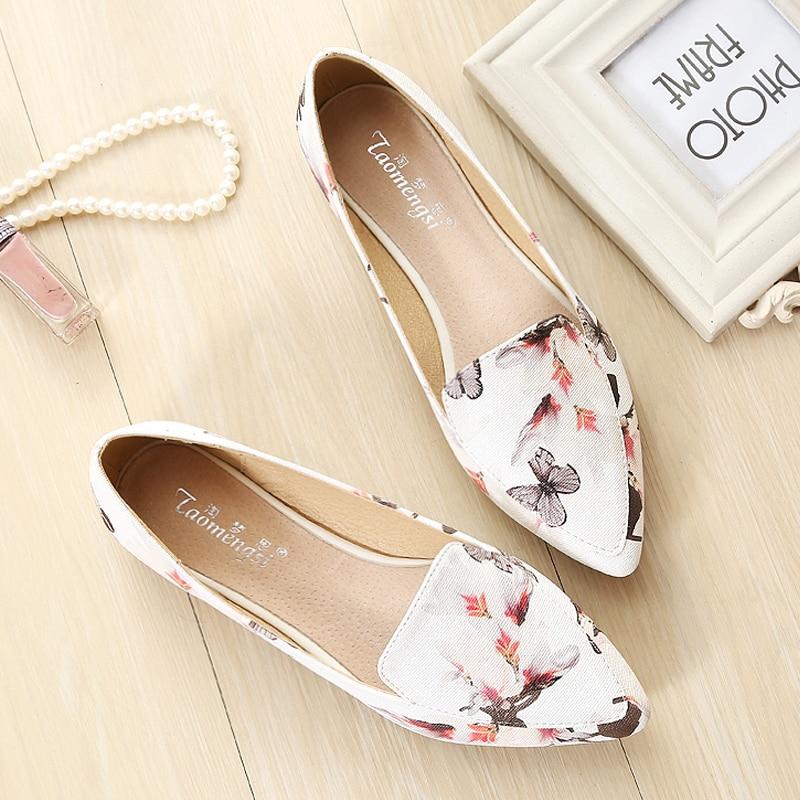 2018 женская повседневная обувь; дикие цветы на мягкой плоской подошве женская обувь большого размера B112
