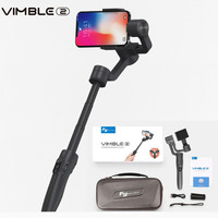 Feiyutech Vimble 2 Three axis Smartphone Gimbal Extendable Selfie Stabilizer for iPhone X GoPro 6 5 Samsung VS Zhiyun smooth 4