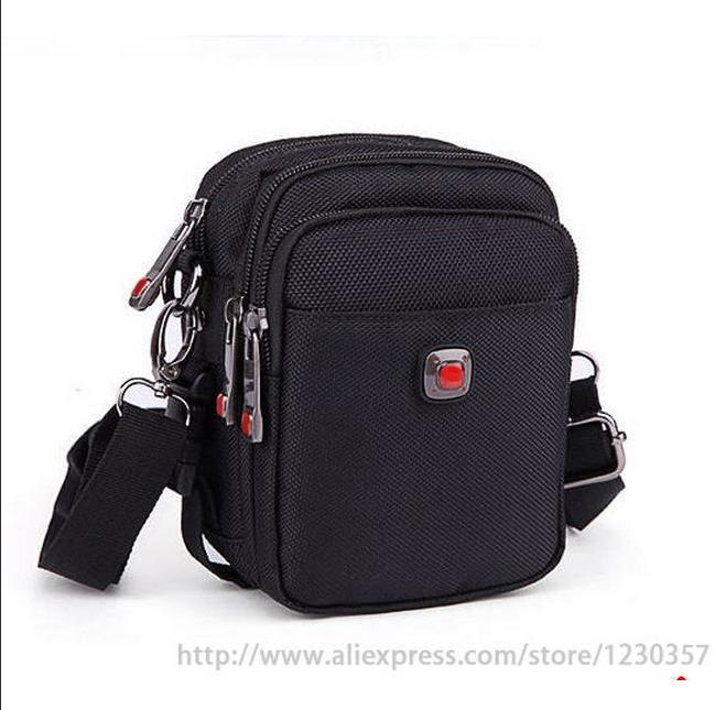 Men messenger bags black oxford material high quality shoulder bag warehouse nylon tool bag mini big 4 sizes a0100