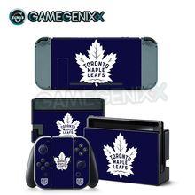 GAMEGENIXX кожи Стикеры защитный винил наклейка для nintendo консолью коммутатора Joy-Con док-станция для зарядки-Торонто Мэйпл Лифс