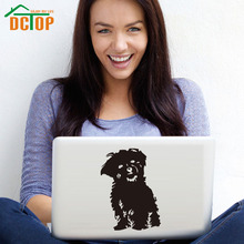 DCTOP Dog Pet Laptop Sticker Vinyl Art Design Removable Animal Wall Stickers Home Decor High Quality Murals