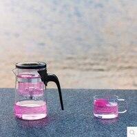 Free Shipping Kamjove Tea Cup Tea Pot Elegant Cup Glass Tea Set Glass Cup 500ML