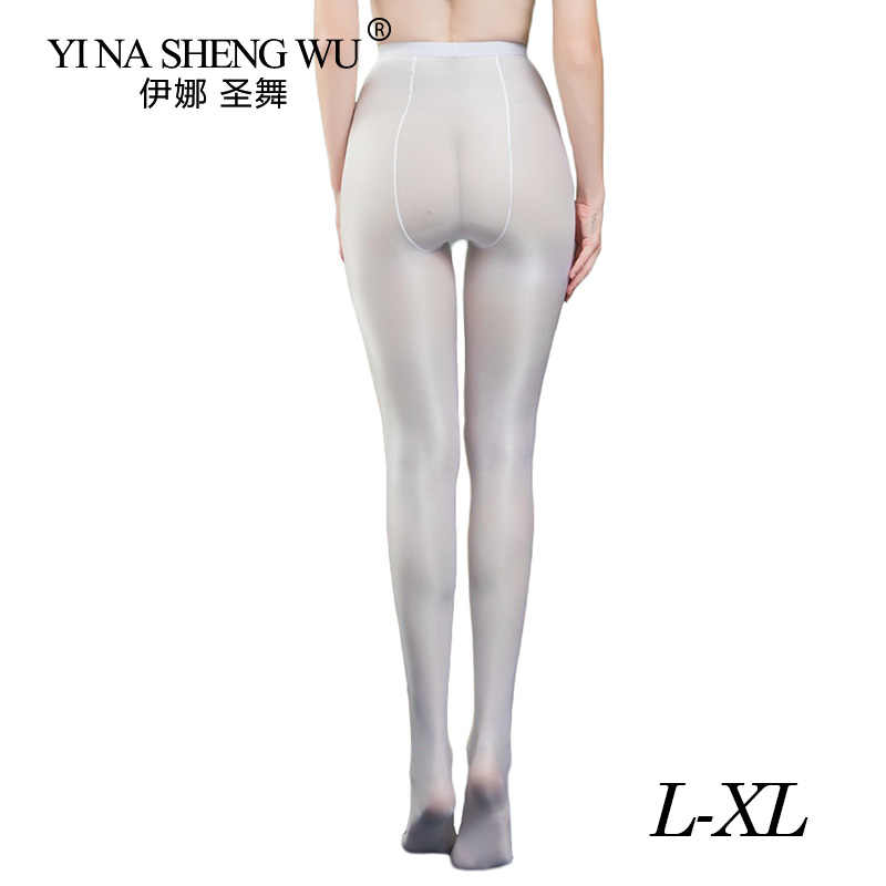 1/2pcs Ultra Shimmery PLUS Footed Tight 70D ความหนา Shine Shaping Pantyhose ถุงน่อง PURE Tights สีดำ nude กาแฟ