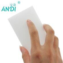 ANDI 200 pcs/lot high quality melamine sponge Magic Sponge Eraser Melamine Cleaner for Kitchen Office Bathroom Cleaning 10x6x2cm