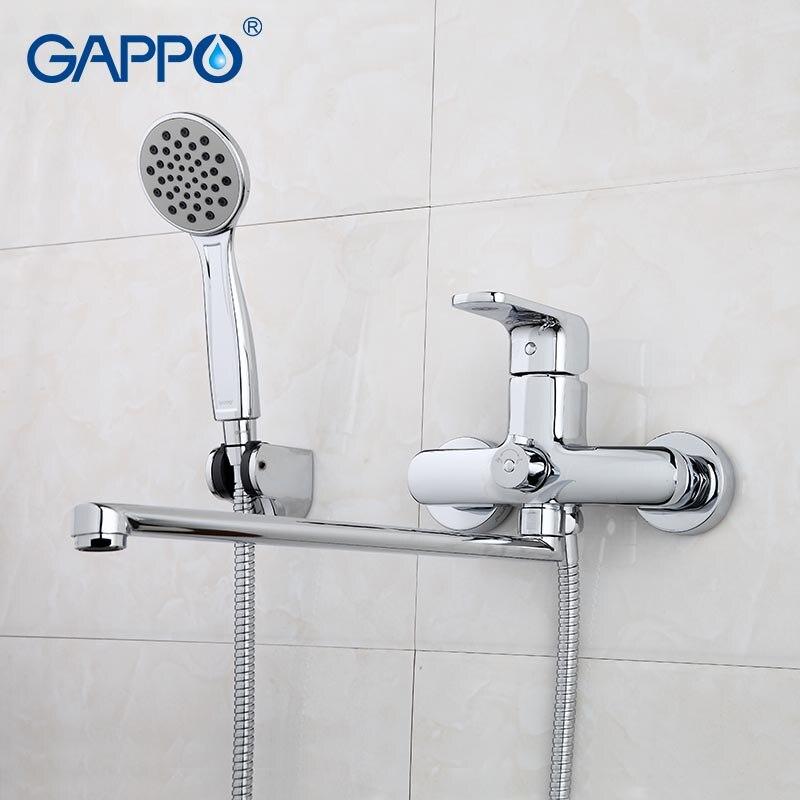 GAPPO robinets de baignoire salle de bains robinet robinets montage mural en laiton baignoire mélangeur de bain évier robinet cascade robinet GA2260