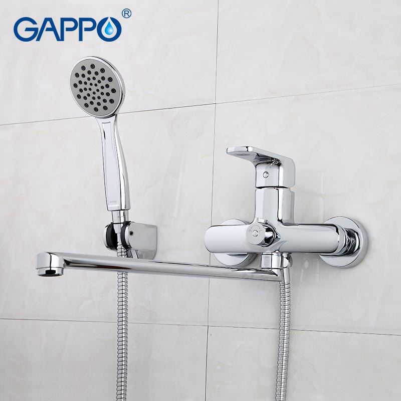 GAPPO Bathtub Faucets bathroom faucet taps wall mount Brass bathtub mixer bath mixer sink faucet waterfall faucet GA2260 gappo bathtub faucet bathroom faucet bathroom taps wall mount brass bathtub mixer bath mixer sink faucet waterfall faucetga32078