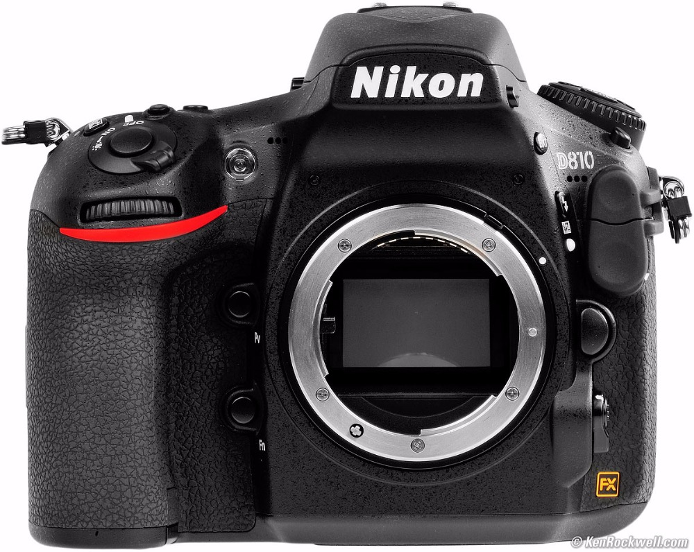 Nikon D810 36.3 MP Digital SLR Camera Body - Black Multi-lan