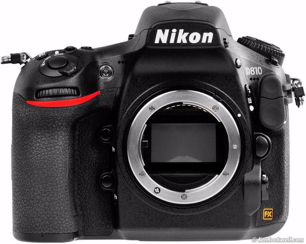 Nikon D810 36.3 MP Digital SLR Camera Body - Black Multi-language
