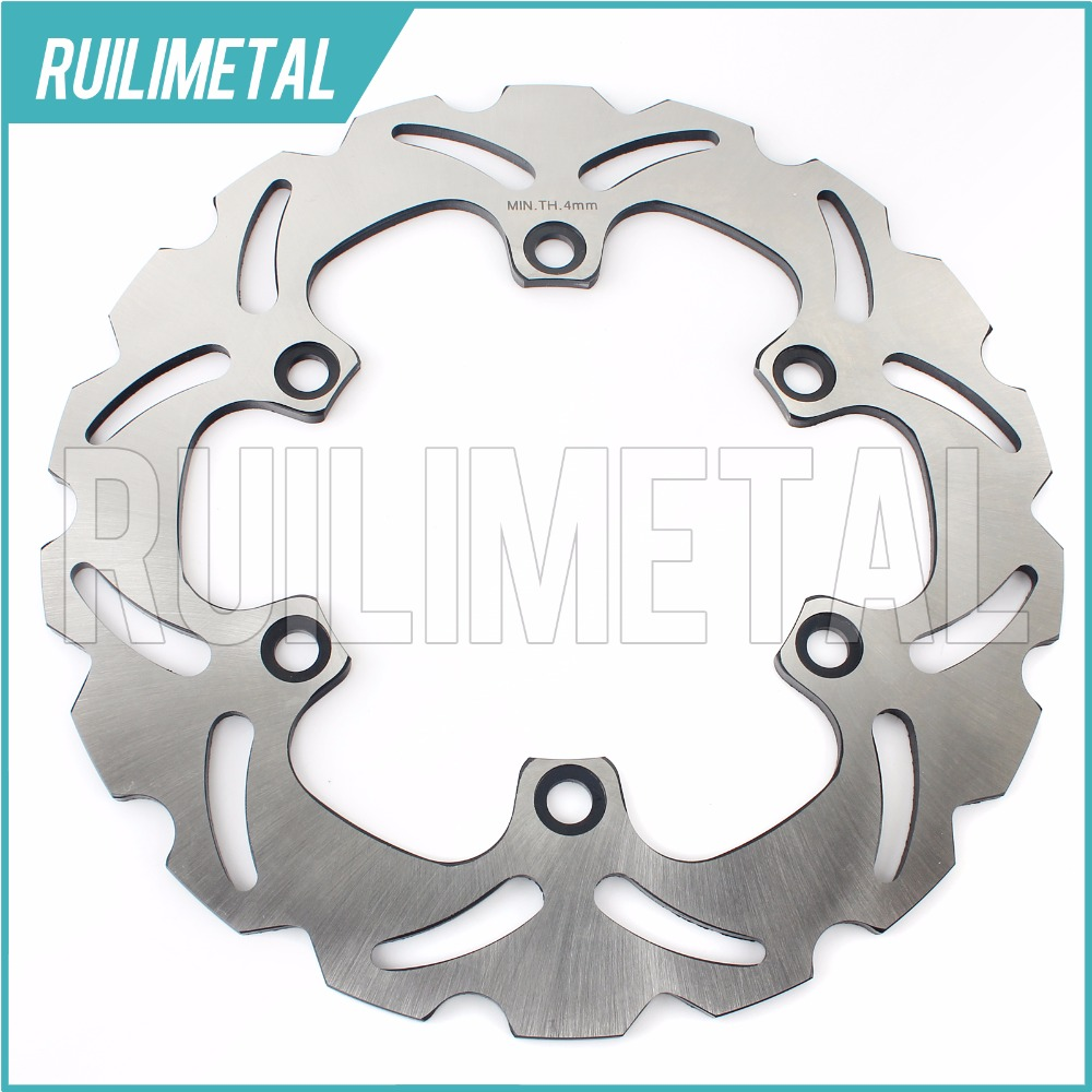 Front Brake Disc Rotor for Kawasaki  EL 252 EL250F 1996 1997 1998 1999 2000 2001 2002 2003  Eliminator 1987 1988 1989 87 88 89 motorcycle front brake disc rotor cb250f hornet cb250 cb 250 1996 1997 98 99 2000 2001 vtr250 vtr 250 mc33 1998 2005 2006 2007