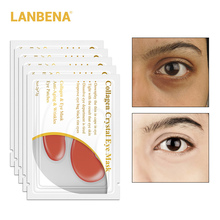 2018 Newly 5 Pairs=10pcs 24K Gold Eye Mask Collagen Patches Dark Circle Puffiness Removal Anti-wrinkle