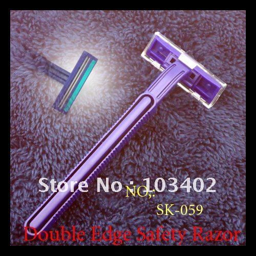 100 X Disposable Twin Blade Razor Shaver