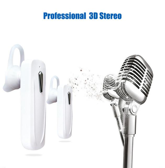 M163 Bluetooth Earphone Wireless Headset Mini Earbuds Handsfree Bluetooth 4.0 Earpiece Stereo With Mic For iPhone Huawei Xiaomi