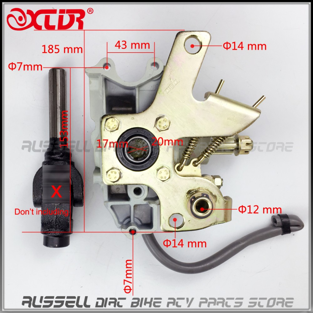 HOT SALE] ATV Buggy Reverse Gear Box Assy drive by shaft
