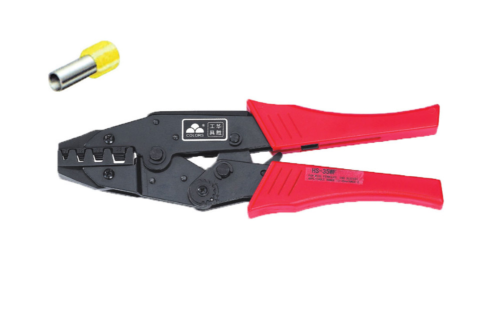Ratchet crimping plier10,16,25,35mm2 AWG8-2 terminals crimping tools multi crimping pliers(EUROPEAN STYLE)) [randomtext category=