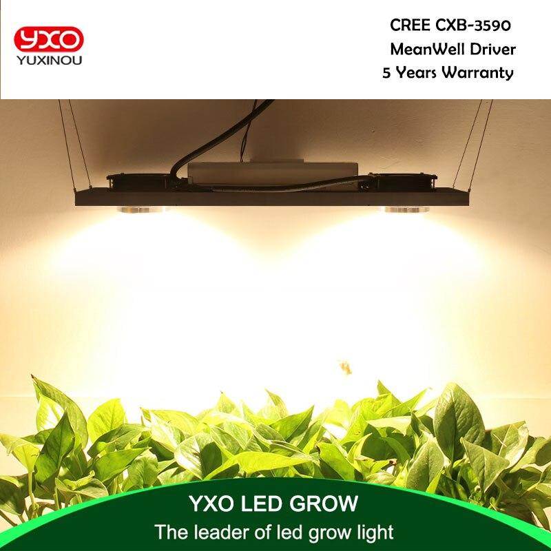 CREE CXB3590 200 w 36000LM 3500 k 5000 k Dimmerabile COB LED Coltiva La Luce a Spettro Completo Crescere Lampada Impianto Al Coperto la crescita di Illuminazione del Pannello