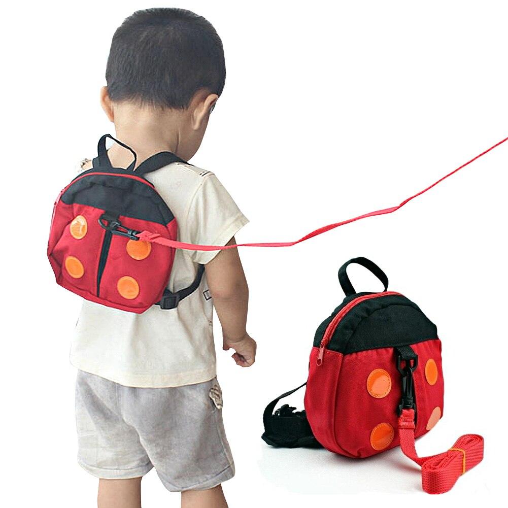 2in1 Ladybird Shaped Keeper Anti Lost Safety Harness Baby Backpack Walk Harness -17  LBY2017  противоскользящие полоски safety walk цвет серый 6 шт