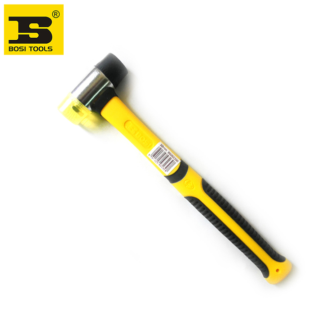 Free Shipping BOSI two-way mallet New Multifuction Plastic Head Hammers Detachable hand Tool Hammers 30mm
