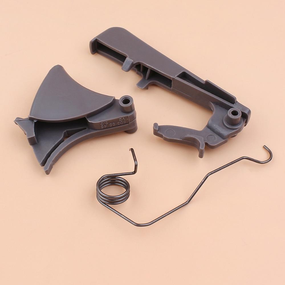 Throttle Trigger Spring Lock Kit For HUSQVARNA 357XP 359 340 340E 345 345E 345EPA 346XP 350 350EPA 351 353 Gas Chain Saws