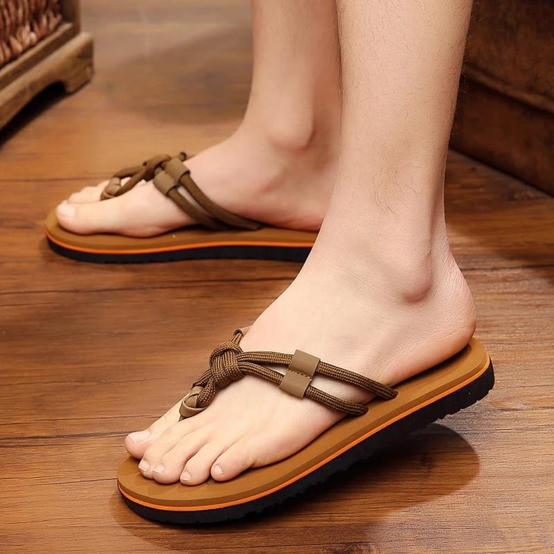 Musim Panas Sandal Jepit Sandal Pria Sandal Laki Laki Korea Fashion Baru Rekreasi Non Slip Musim Panas Sepatu Pria Sandal Sandals Fashion Sandals Mensandals Men Fashion Aliexpress