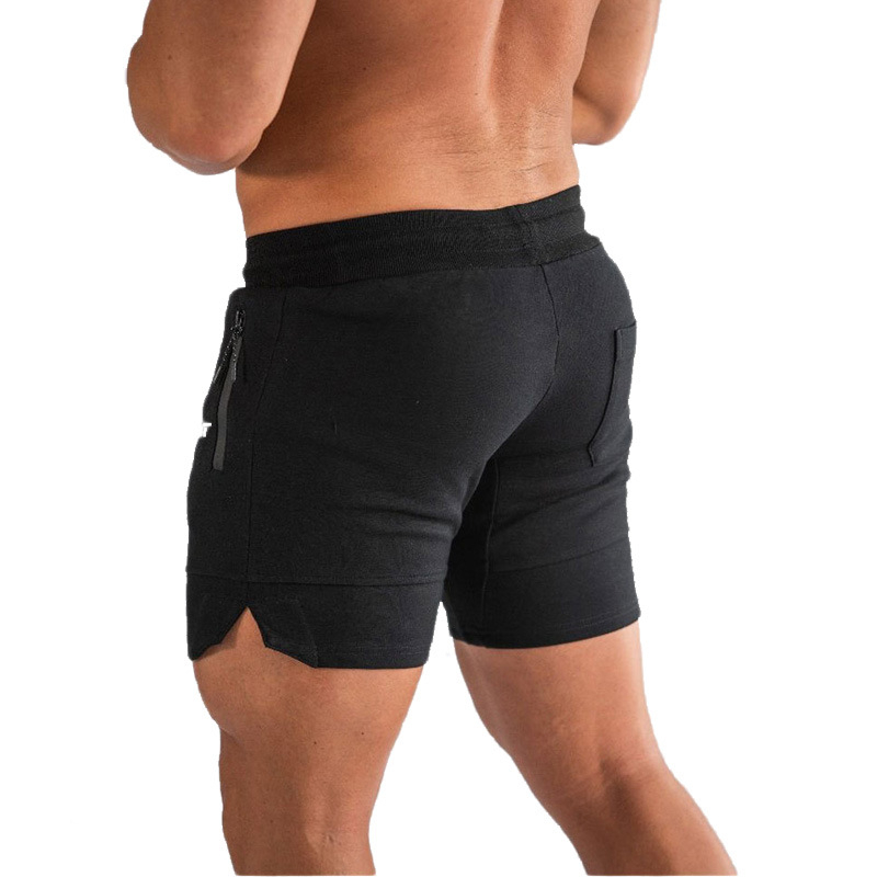 Bermuda Shorts Swimming-Trunks Gym Fast-Drying-Board Summer Lace-Up Fitness Jogger Men's
