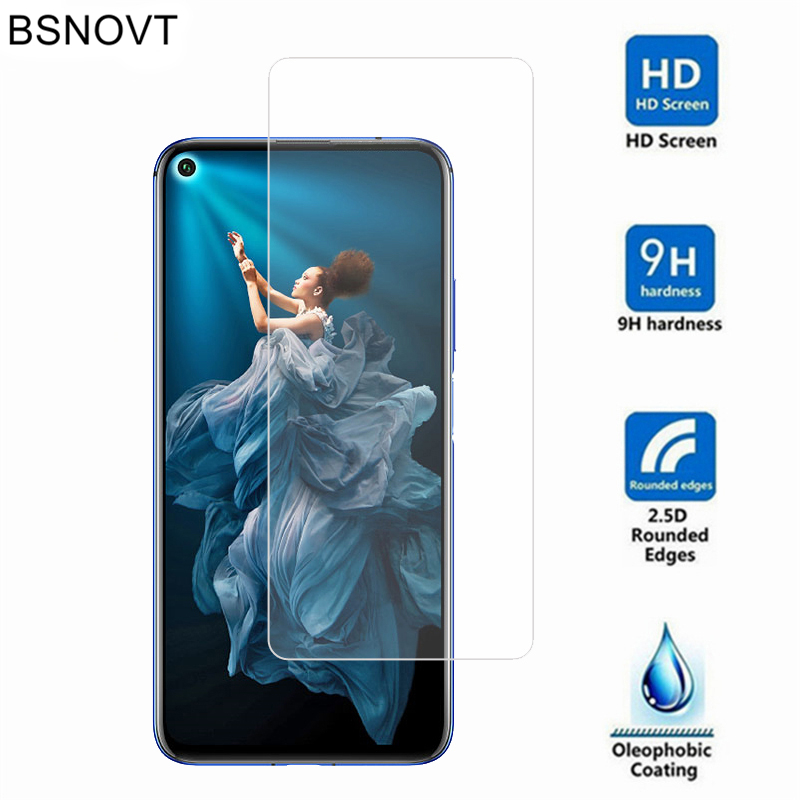 2PCS Glass For Huawei Honor 20 Phone Screen Protector Tempered / Pro Film BSNOVT