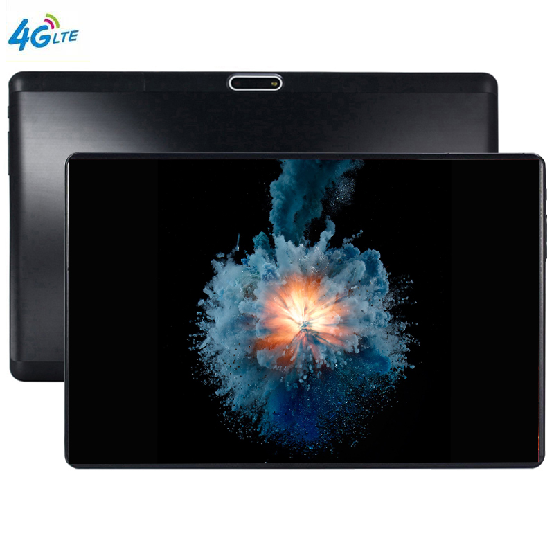 New 10 Inch The Tablet Screen Mutlti Touch Android 9.0 8 Core Ram 6GB ROM 64GB Camera 5MP SIM Wifi GPS Tablet Pc With Case Cover