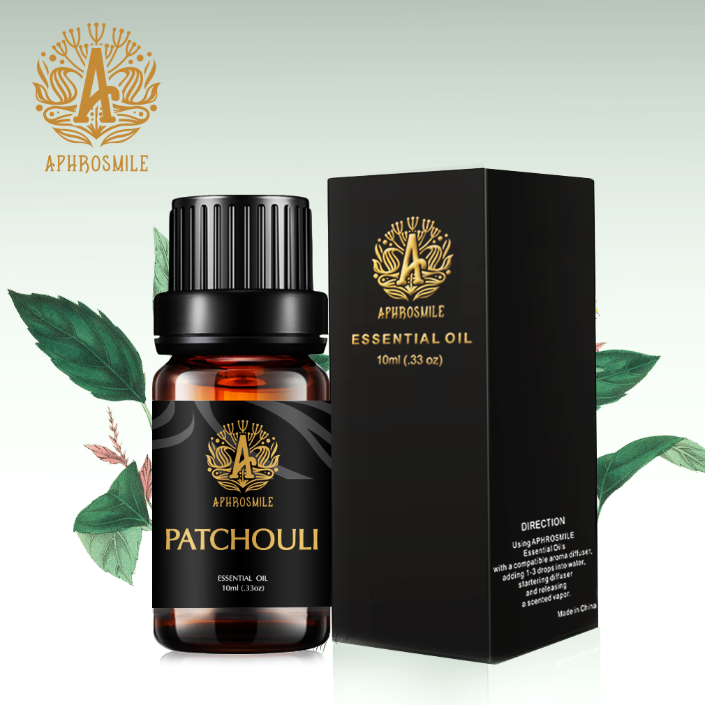 Pure Plant Skin Care Patchouli Essential Oil Effectly Remove Acne Promote Skin Regeneration 10ml Patchouli Aroma Oil