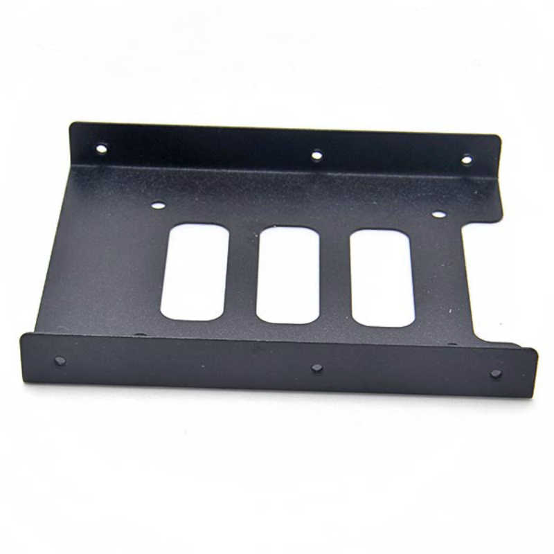 Útil 2,5 pulgadas SSD HDD a 3,5 pulgadas adaptador de montaje de Metal soporte de base de disco duro para PC Disco Duro carcasa