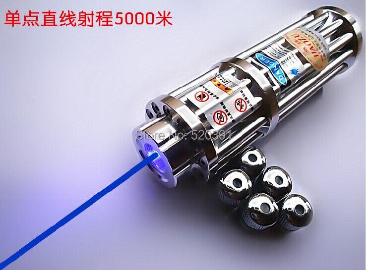 все цены на 450nm 50000mw/50W High Power Focusable Blue Laser Pointer Flashlight LAZER Burning Match/Paper/Dry Wood+Glasses+Changer+Gift Box онлайн