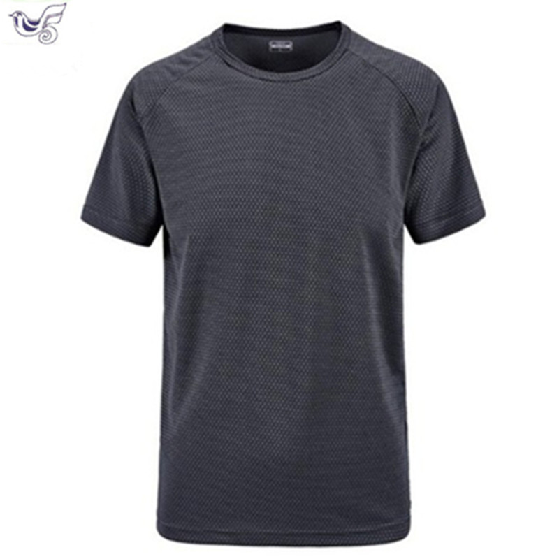 plus size M 6XL 7XL summer Brand Tops amp Tees Quick Dry Slim Fit T shirt Men sporting Clothing Short sleeve t shirts in T Shirts from Men 39 s Clothing