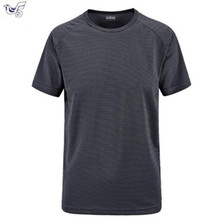 plus size M~6XL 7XL summer Brand Tops & Tees Quick Dry Slim Fit T-