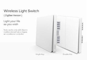 Image 2 - Aqara Interruptor de pared con Control de luz inteligente ZiGBee, aplicación remota para teléfono inteligente, cable neutro y en vivo (línea cero y Fuego), ZiGBee