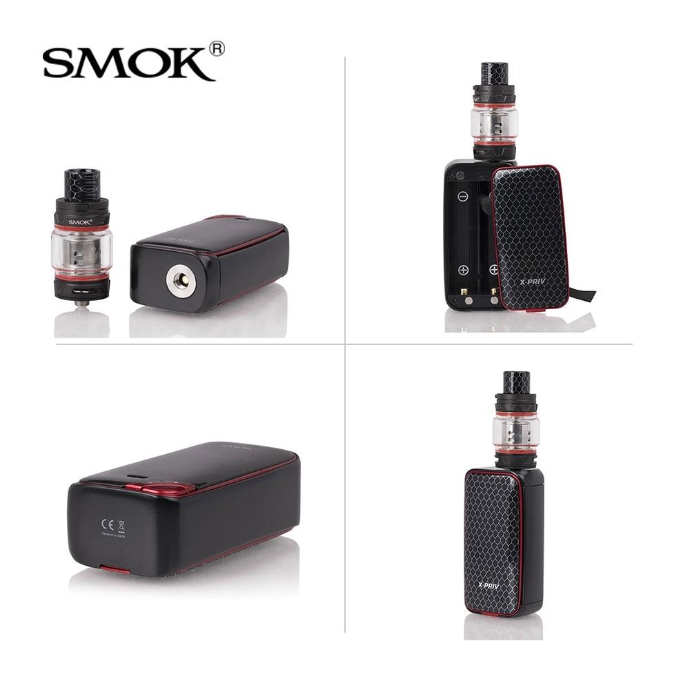 Original SMOK X-Priv Kit 225W with V12 Prince Tank 8ml+Coils Electronic cigarette x priv mod vape kit VS G-PRIV 2/MAG/I-PRIV kit