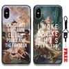 Retro oil Pattern painting Vintage Quotes Tpu Soft Silicone Phone Case Cover Shell For Apple iPhone 5 5s Se 6 6s 7 8 Plus X