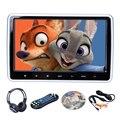 10 Pulgadas HD Digitl Pantalla LCD Reposacabezas Monitor Del Coche DVD/USB/SD del Jugador de IR/FM Hablan 32 Bits de Control Remoto Inalámbrico de Juegos PAL/NTSC