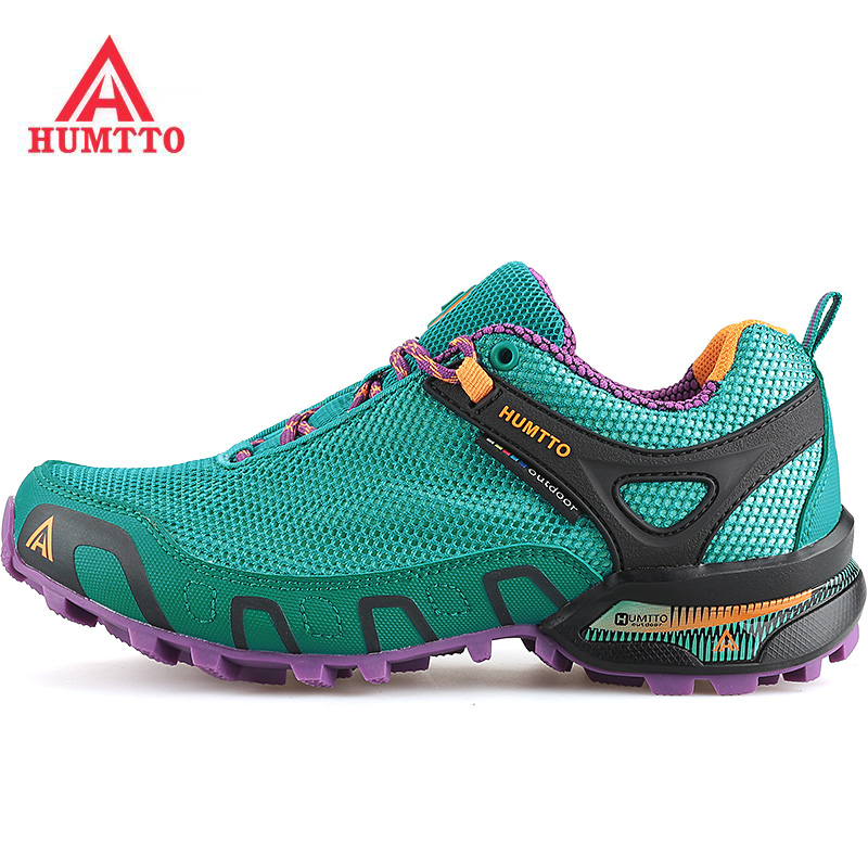 HUMTTO Women's Outdoor Hiking Trekking Sneakers Shoes For Women Sport Climbing Mountain Trail Shoes Woman Senderismo humtto women s leather outdoor hiking trekking sneakers shoes for women purple sports climbing mountain shoes woman sneaker